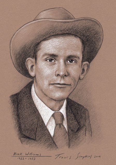 Hank Williams. Country Singer Songwriter. Musician. Grand Ole Opry. by Travis Simpkins