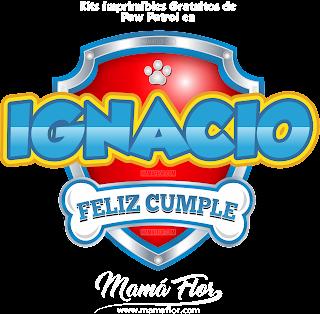Logo de Paw Patrol: IGNACIO