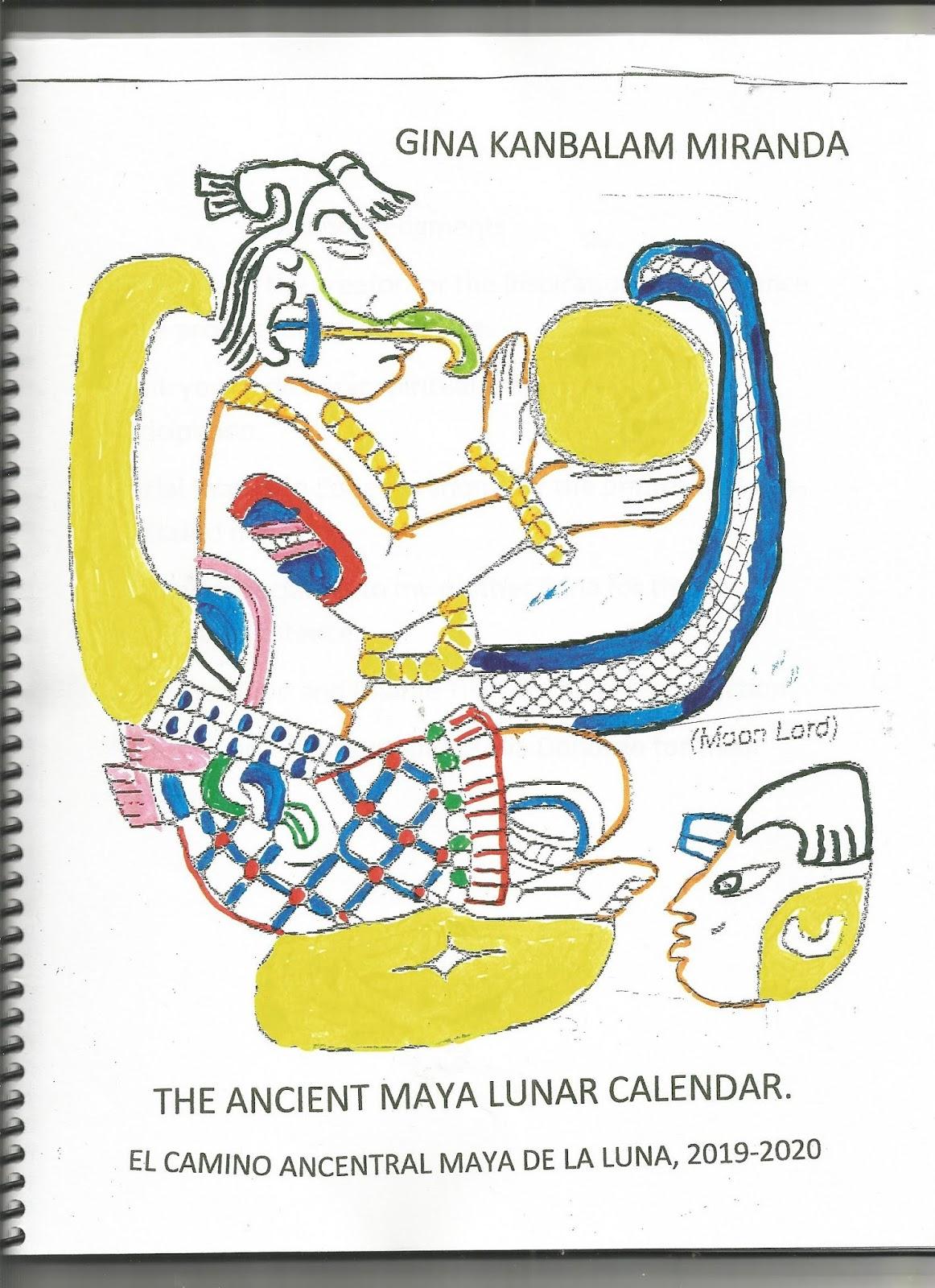 Calendario Maya 2020.Mayacron