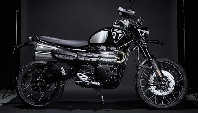 Triumph launch 'James Bond editon' Scrambler 1200.