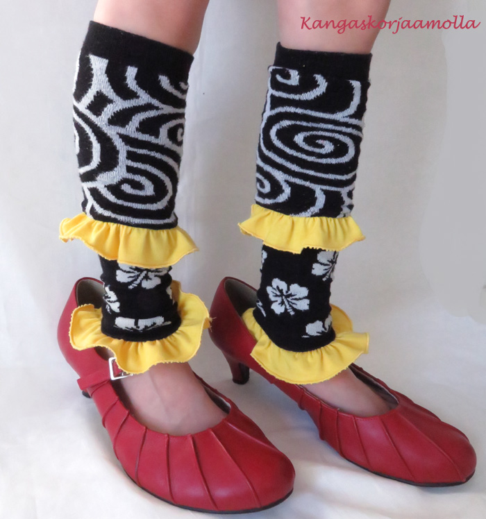 Rikkinäisen sukan varret