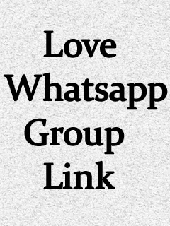 Love Whatsapp Group Link