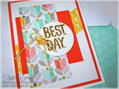 Best Day Ever Card Saleabration 2015