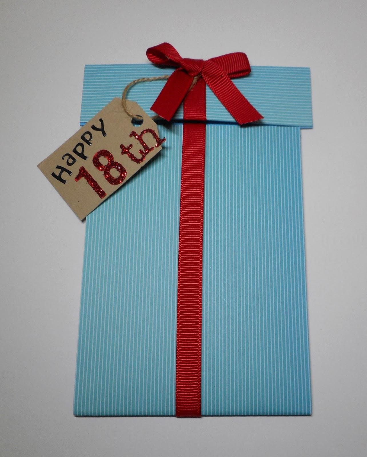 ..MerryMade Cards & Crafts...: Happy 18th Birthday Nephew