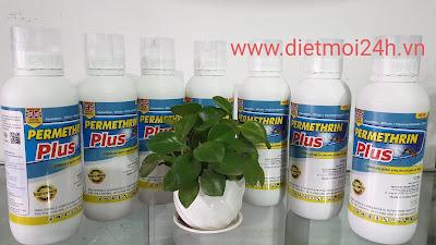 Đại lý bán thuốc diệt muỗi Permethrin Plus