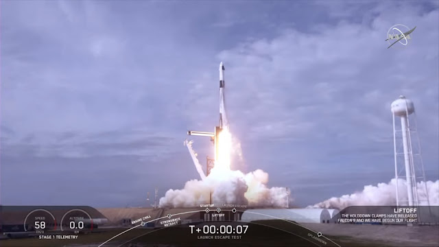 NASA, SpaceX Complete Final Major Flight Test of Crew Spacecraft