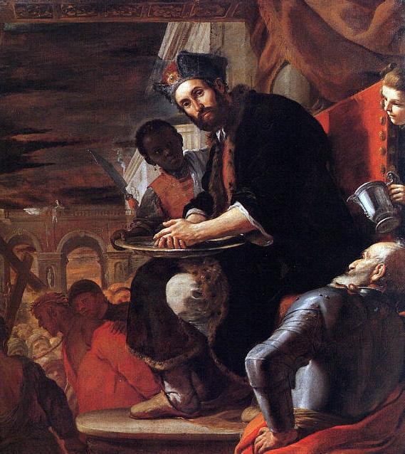 En la palangana de Pilatos