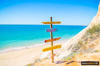 Algarve Południe Portugalii Portugalia Algarve 10 powodów dlaczego warto odwiedzić na wakacje wyjazd wczasy wycieczki polski przewodnik opis informacje ToP 10 plaże klimat loty