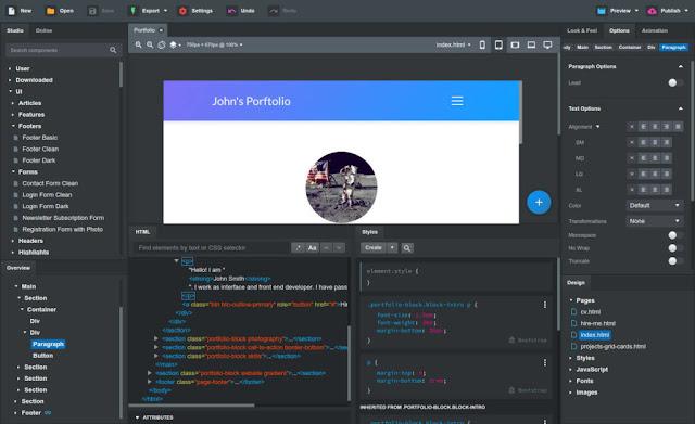 Bootstrap Studio 5.1.1