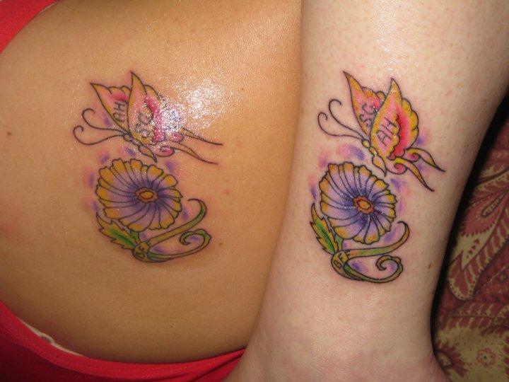 Best friend locket tattoo