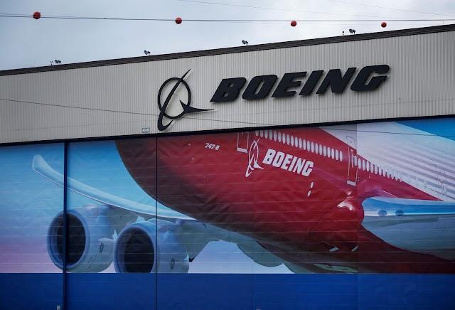 Boeing e companhias aéreas valorizam na bolsa de Nova Iorque