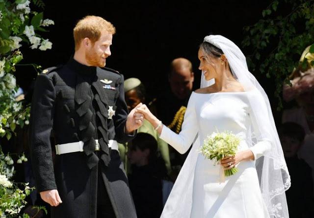 Вот как выглядел и сколько стоил свадебный торт Гарри и Меган