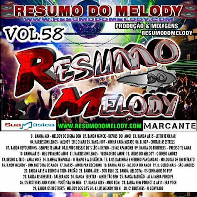 CD RESUMO DO MELODY VOL.58 ( MARCANTE )