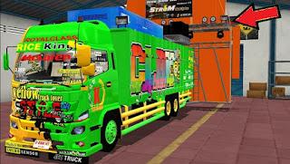 Mod Truck Hino 500 Sound system