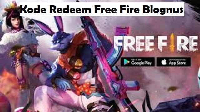 Kode Redeem Free Fire Blognusa