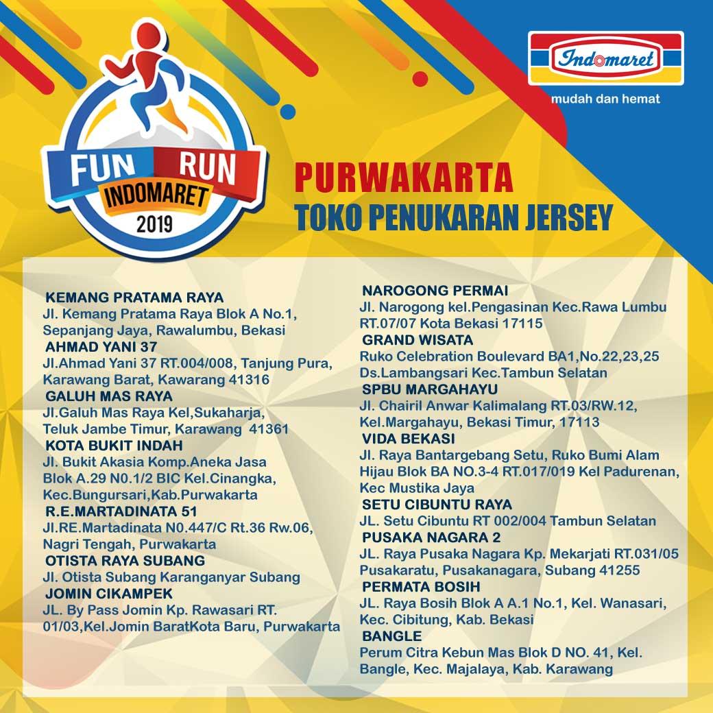 Toko Fun Run Indomaret - Karawang/Purwakarta • 2019