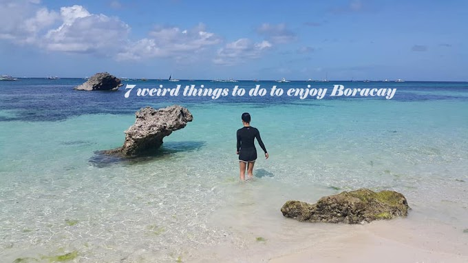 7 weird things to do to enjoy and appreciate Boracay
