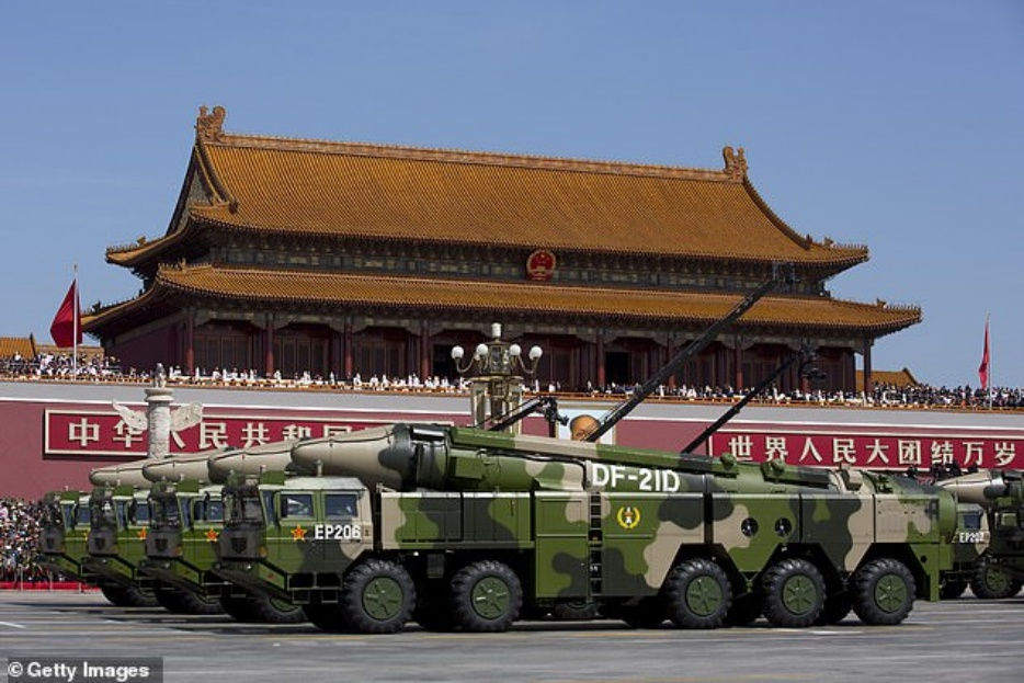 Dongfeng 21D anti-ship ballistic missiles