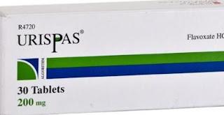 Urispas 200 الاسم التجاري,Flavoxate hydrochloride الاسم العلمي,دواء أوريسباس 200,دواء يوريسباس 200,دواء فلافوكسات,فلافوكسات هيدروكلوريد، الذي هو نوع من مرخيات العضلات,التخفيف من تشنج العضلات غير الطوعي في جدار المثانة ,يوريسباس لعلاج سلس البول,يستخدم  للحد من الألم، وإلحاح وتكرار التبول,حالات التهاب المسالك البولية، مثل التهاب المثانة ومجرى البول (الإحليل),التهاب في غدة البروستاتا,منظار المثانة,التبول الليلي,ألم في المثانة,ألم أو صعوبة في التبول,التبول بشكل متكرر جدا ,القسطرة أو جراحة المسالك ,الإلحاح البولي,جرعات Urispas 200,الأعراض الجانبية Urispas 200,التفاعلات الدوائية Urispas 200,الحمل والرضاعة Urispas 200,صيدلة أون لاين