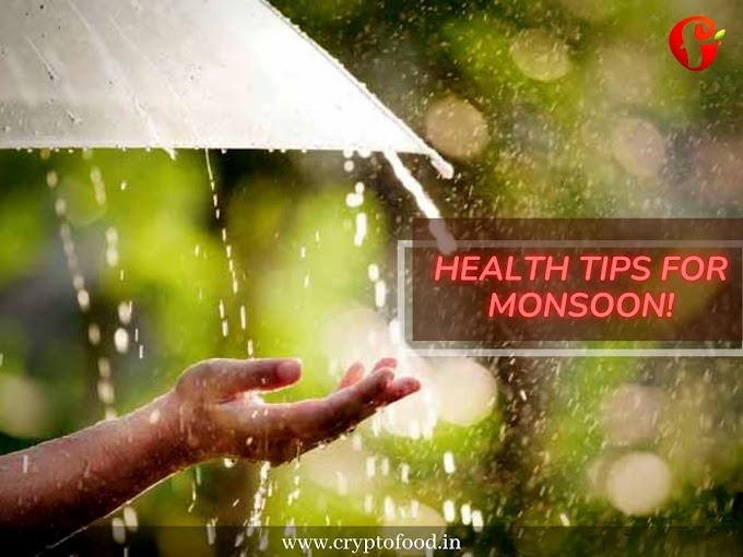 5 Simple Health Tips For Monsoon!