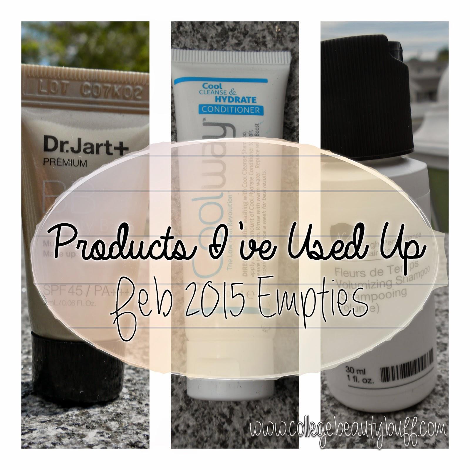 Products I've Used Up: February 2015
