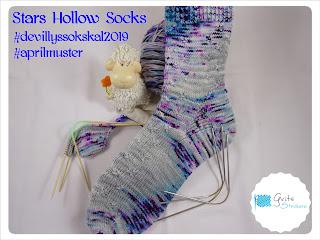 Grits Strickerei, Newenglandknitting, Stars Hollow Socks, NekoFlex, Addi CrasyTrio, Die kleine Wollfabrik