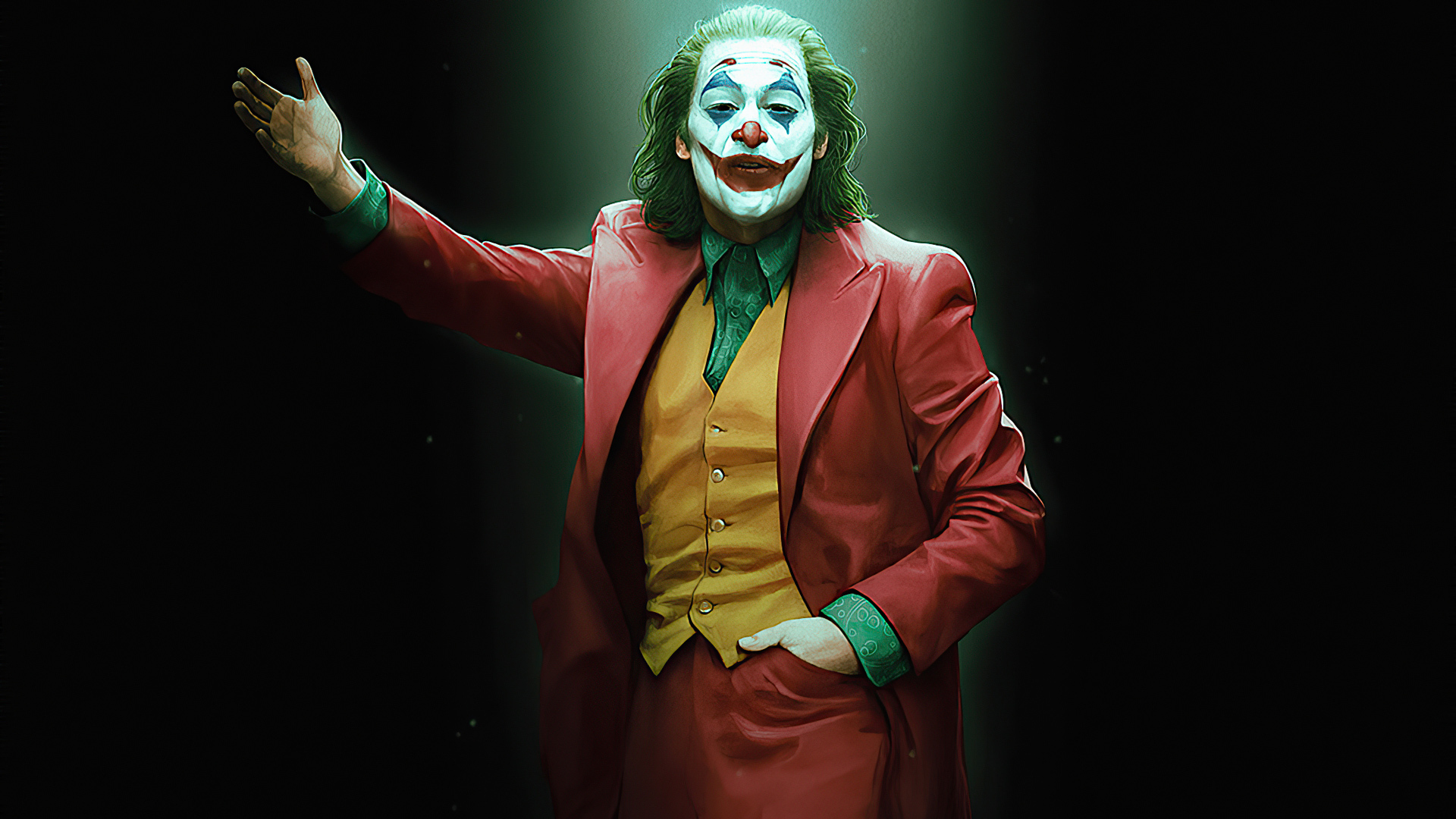 Joker Welcome You Full HD Wallpaper For PC and Mobile