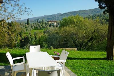 appartamento con giardino privato toscana Firenze