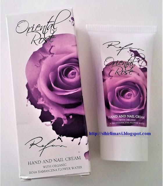 el kremi, refan kozmetik, blog, blogger, sihirlimavi, hand cream