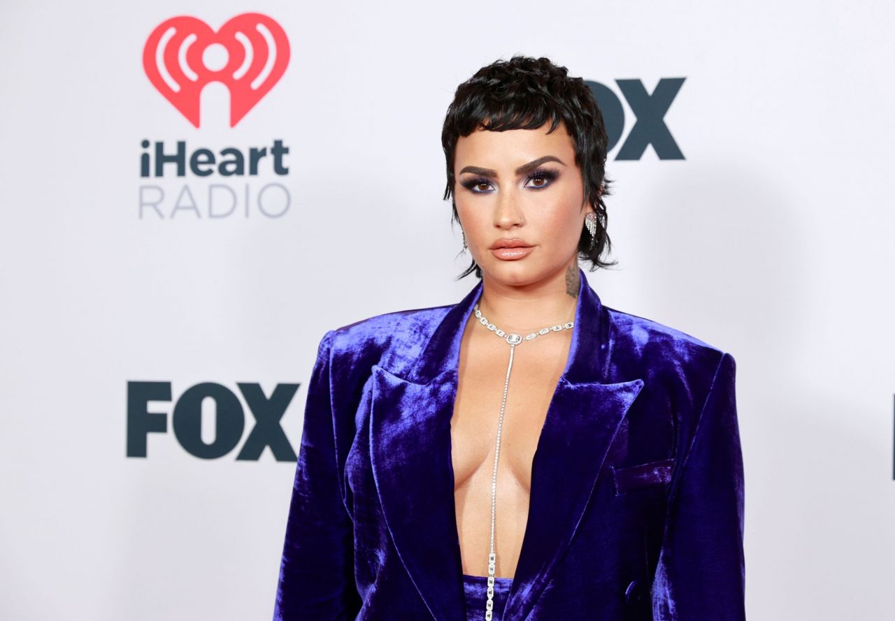 Demi Lovato - 2021 iHeartRadio Music Awards at The Dolby Theatre in Los Angeles