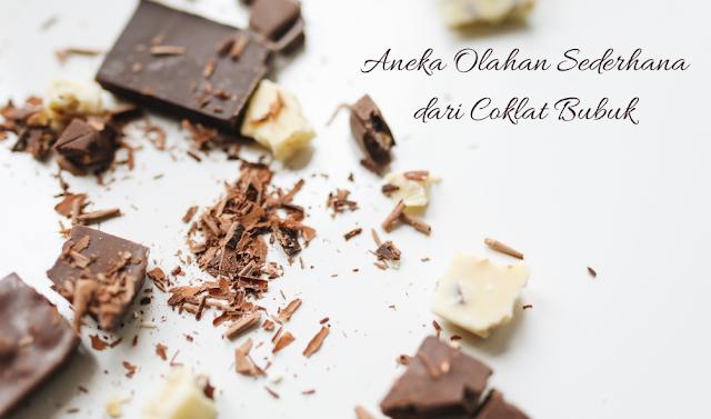 Aneka Olahan Sederhana dari Coklat Bubuk