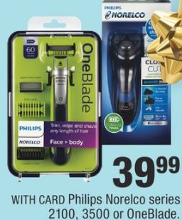 Philips Norelco Series 2100, 3500 Or Oneblade