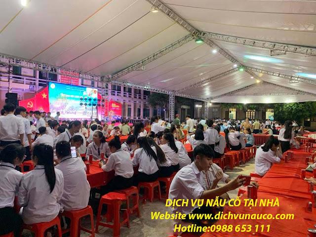 Đặt tiệc Buffet ở Cầu Giấy tại trường Nguyễn Bỉnh Khiêm