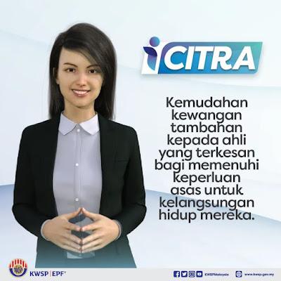 Portal i-Citra Online kini dibuka pengeluaran kwsp simpanan untuk masa depan