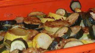 zucchini, yellow squash, baked squash recipe, baked zucchini recipe