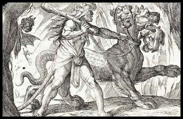 Hércules y el can Cerbero