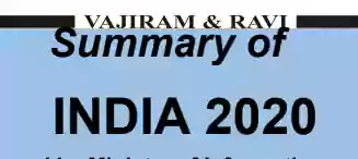 Vajiram and Ravi India Year Book 2020