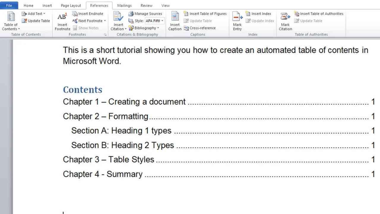 Cara Membuat Daftar Isi Otomatis di Microsoft Word, Dijamin Mudah dan Cepat