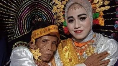 Viral di Bone, Kakek 58 Tahun Menikah dengan Gadis 19 Tahun