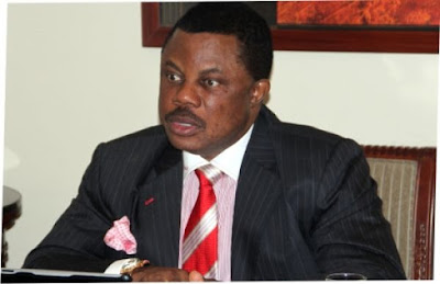 Obiano, APC candidate, Nwoye, disagree over November gov poll