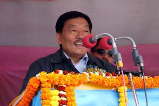 Pawan CXhamling names for Yug Kavi Siddhicharan Award by Nepal