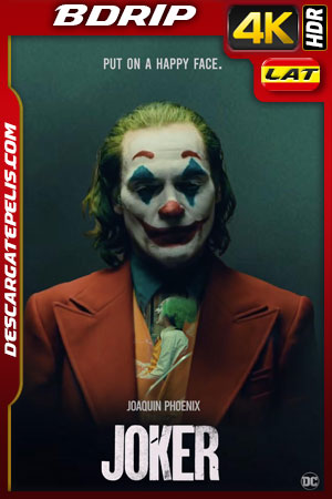 Joker (2019) 4k BDrip HDR Latino – Ingles