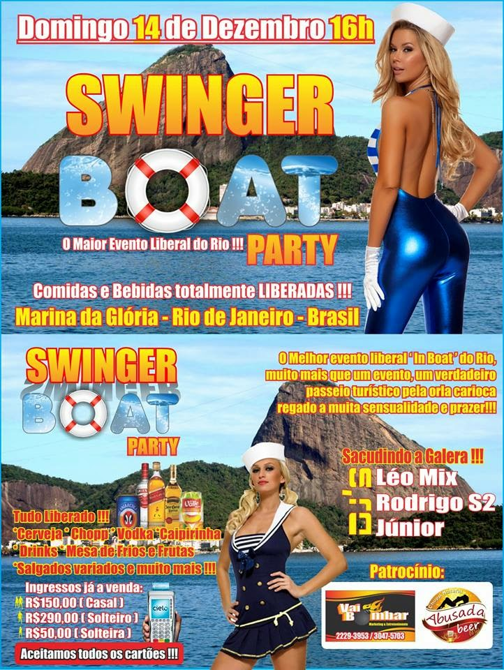 Swingers boat party