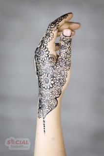 Floral Mehndi Designs images