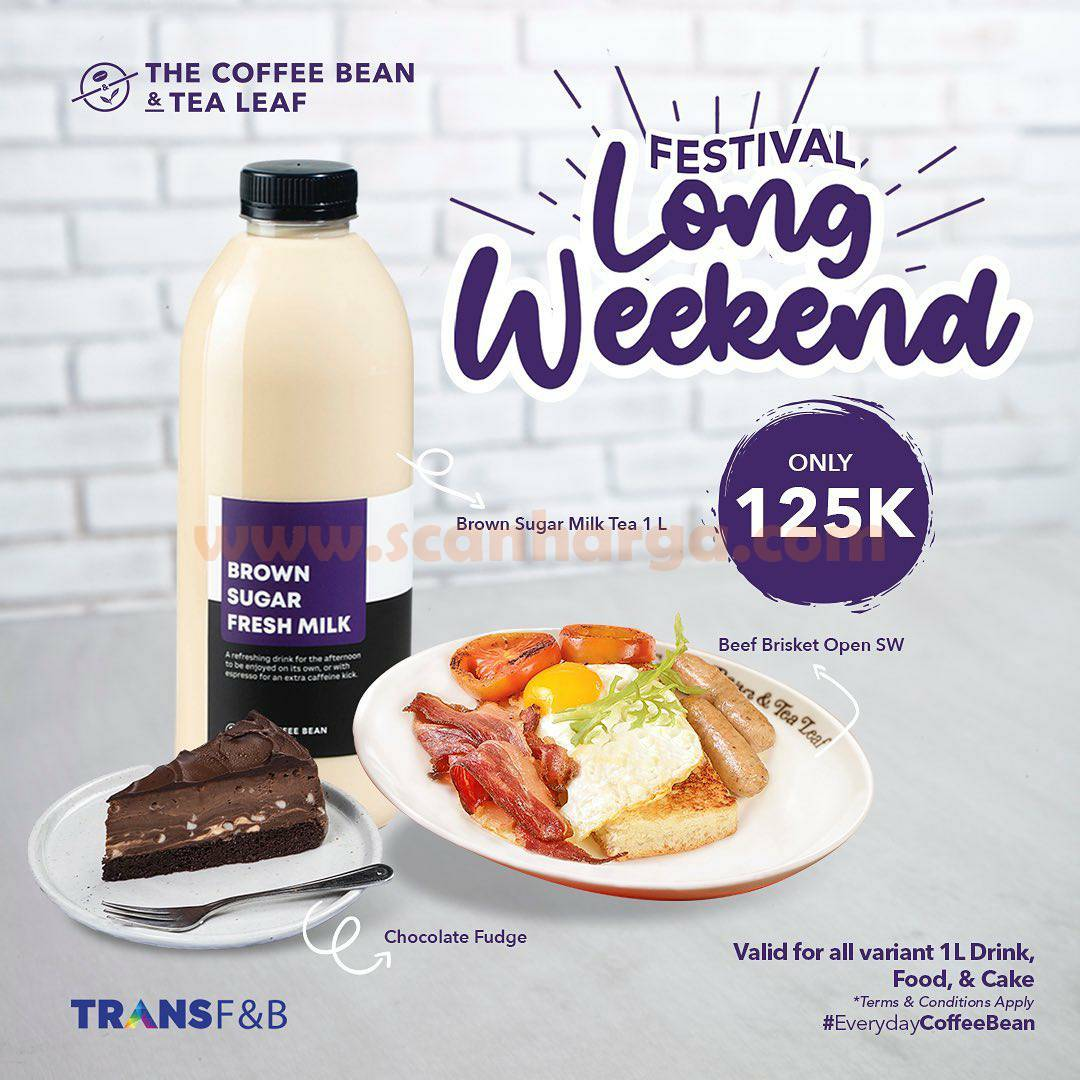 The Coffee Bean Promo Festival Long Weekend