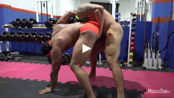 #MuscleDom - Wrestling and Rough Sex