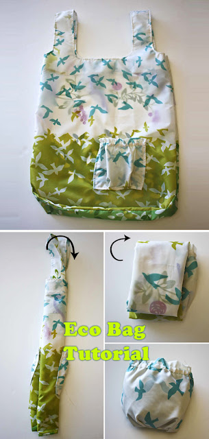 Lined and Nylon Eco Bags Tutorial