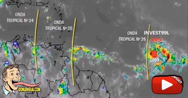 Ciclón Tropical afectará a Venezuela en las próximas 48 horas