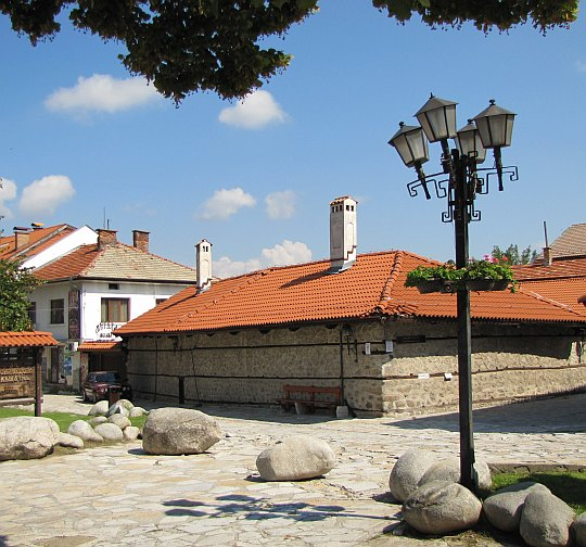 Najstarszy zachowany budynek Banska z 1749 roku.