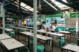 Assumption Road Food Court Baguio City